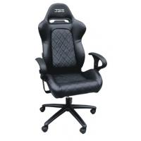 China SGS  Adjustable Folding Racing Office Chair Gaming office chair PVC with arm rest wholesale