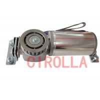 China Round Sliding Glass Electric Door Motor 24VDC White Light Brush Less 75 W wholesale