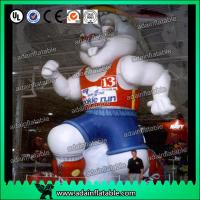 China Sports Event Inflatable Cartoon Advertising Rabbit Model wholesale