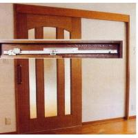 China Hanger Rollers Semi Automatic Door With Super Silent Movement wholesale