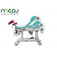 China MJSD03-03 Gynecological Examination Table Electric Birthing Bed 0-45° Backrest wholesale