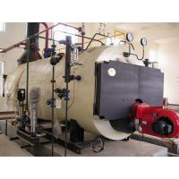 China Three Pass Condensing Oil Heating Steam Boilers , Electric Or Natural Gas Boiler wholesale