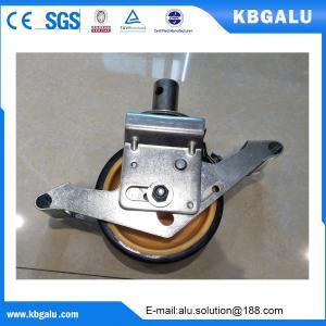Buy cheap EN certified 6 inch  aluminum scaffold wheel from wholesalers