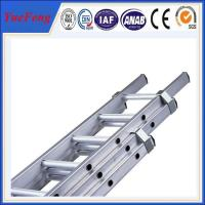 China 6063 t5 OEM aluminum fabrication,ladder aluminium,aluminium extension ladder wholesale