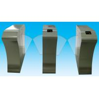 China RS485 flap barrier 304 stainless steel security gate barrier for indoor / outdoor wholesale