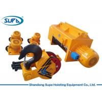 China Heavy Duty Electric Wire Rope Hoist 20T 25T 50T Capacity Fixed / Movable Type Bases wholesale