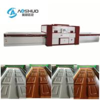 China Membrance Laminating Wood Door Press Machine Woodworking Double Table wholesale