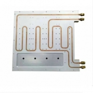 China New Energy Vehicle Liquid Cooled Heat Sink , 8Um-25um 300gram Square Heatsink wholesale