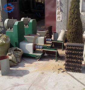China 200-250kg per hours biomass wood briquettes making line Advanced design sawdust briquettes machinery on sale