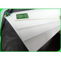 China Sheet Size 60 × 90cm Printed Ink Evenly 12pt 14pt SBS / C1S Paper In Roll wholesale