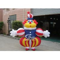 China Commercial Grade Advertising Inflatables Funny Clown Moving Cartoon wholesale