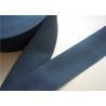 China Flat Elastic Polypropylene Webbing Straps / 50Mm Webbing Straps For Bags wholesale