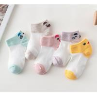 China Comfortable Fashion Cute Baby Socks , Knitted Cotton Baby Socks Customized Color wholesale