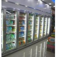 China Convenience Store Glass Door Freezer For Fruit 2 - 8 Degree Danfoss Compressor wholesale