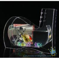 Quality Wedding decoration small acrylic fish tank for sale