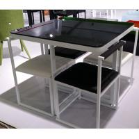 China dining sets,modern ,  high gloss finish, 900*900**750mm, 1 pc/2ctns,45kg,0.3079m³ wholesale