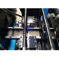 China Drawer Slide Purlin Roll Forming Machine PLC Inverter Encoder Touch Screen wholesale