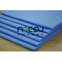 Quality Examination Blue Disposable Bed Sheet Roll , Nonwoven Exam Table Paper Roll For Spa for sale