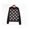 China Black Color Xmas Girls Ugly Christmas Sweater Custom Made Santa Claus Pattern wholesale