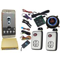China Smartphone Controlled GSM Car Alarm System With Remote Start Phone App wholesale