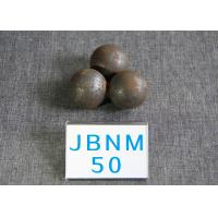 Quality 50mm Hyper Steel Grinding Media Balls High Core Hardness 61-62 hrc for Power Station for sale