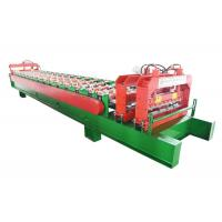 China 840 Color Steel Roofing Sheet Manufacturing Machine For Flat And Round Roofing wholesale