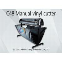 China Maual LED C48 Digital Cutting Plotter Machine 1300mm Easy Operation wholesale