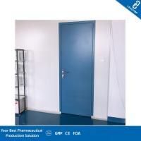 China FDA Certified Hospital Door / Sandwich Panel Cleanroom Doors For Pharmaceutical Production on sale