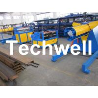 China Carbon steel, GI Economical Simple Type Slitting Machine With 30KW, 30m/min Speed wholesale