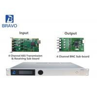 4 - Ch Integrated Receiver Decoder Professional SDI , Low CAPEX Descrambler