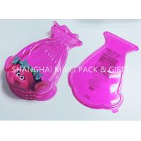 China Food Grade Pink Cotton Plastic Candy Containers For Party Favors Customized Special Shaped wholesale
