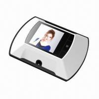 China Door Viewing Peephole System/Digital Viewer with 2.4-inch TFT LCD and CMOS Sensor  wholesale