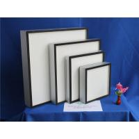 Quality Fiberglass Paper Mini Pleat HEPA Air Filter For Hospital ISO9001 TS16949 for sale