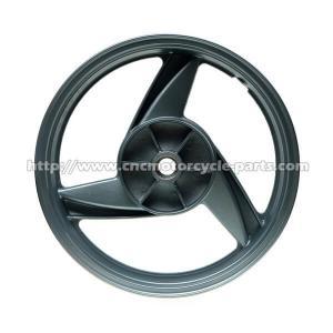 China Black 17 Inch Motorcycle Wheels, Motorcycle Alloy WheelsFor Kawasaki ER5 All Years wholesale