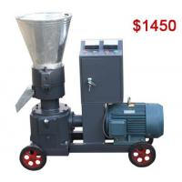 China AZSPLM200 Small Flat Die Pellet Making Machine with Electric Engine for Home Use on sale