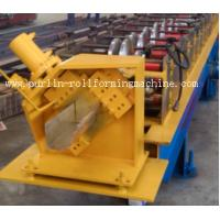 China Half-round Seamless Gutter Roll Forming Machine High Speed Chain Transmission 16 Stations wholesale