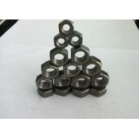 China DIN934 Hex Head Carbon Steel Nuts / Hexagon Weld Nuts For High Speed Railways on sale