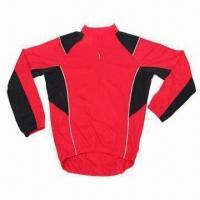 China Cycling Jersey with Coolmax Fabric and EN471 Reflective Piping wholesale