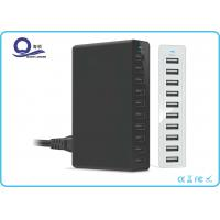 China 50W 10 Ports USB Charging Station USB Hub with Smart Power IQ for Fast Charging wholesale