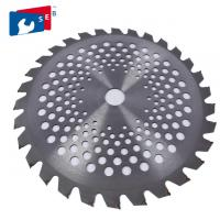 China 255mm TCT Circular Harvest Saw Blade for Cutting Wheat Rice Soybean wholesale