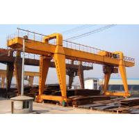China MG Double Beam Gantry Crane Heavy Duty With ABB SEW Motor For Lifting Cargo wholesale