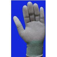 China Durable Safety Comfortable Esd Anti Static Carbon Fiber PU Coated Glove wholesale