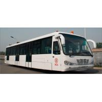 China Low Carbon Alloy Steel Body Airport Transfer Bus Airport Coaches 5100mm Wheel Base wholesale