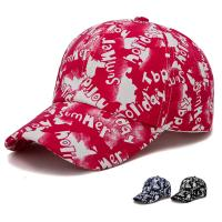 China print logo baseball caps and hats men 100% polyester piping running hat custom outdoor sports caps  color:red wholesale