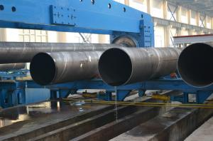 China API 5L/ASTM A252/EN10219/AS1163 SSAW steel pipe/3PE/FBE Epoxy Coating Anti-corrosion Spiral Welded Steel Pipes and Tube wholesale
