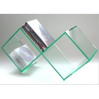 China Number 8 Shape Acrylic Pop Display , Glass Color CD Display Holder wholesale