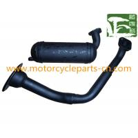 China Bride Scooter Muffler Gas Scooter Spare Parts for PGT103 , motorcycle exhaust pipes wholesale
