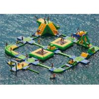 China Large Adult Inflatable Water Park , Inflatable Aqua Park One Stop Service wholesale