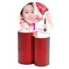 China Saqueous Coating Cardboard Display Racks / Cosmetics Product Display Stands wholesale