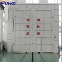 China Large Scale Industrial Sand Blasting Room Flexible Layout For Locomotive Industry wholesale